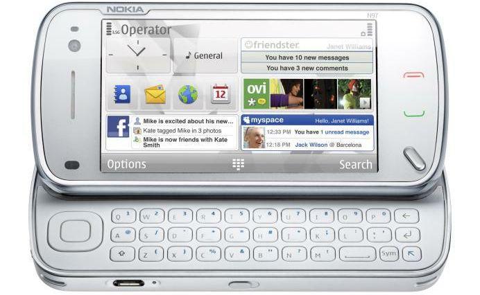 Nova atualização do Nokia N97